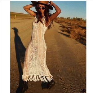 Dresses & Skirts - New! Crochet Fringe Festival Dress